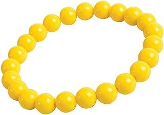 Yellow Big Pearls Bracelet