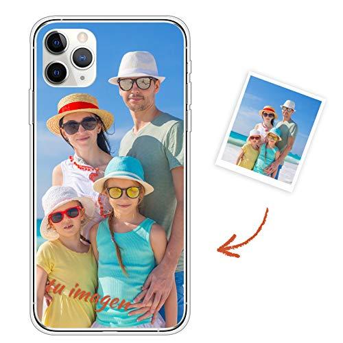 Oihxse Carcasa Silicona para iPhone 6/iPhone 6S Funda Personalizada Foto Imagen Texto Transparente Ultrafina TPU Bumper Case Personalizable Cubierta Cover para Niña Niño Hombre Mujer