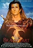 Braveheart: B (1995)   US Import Filmplakat, Poster [68 x