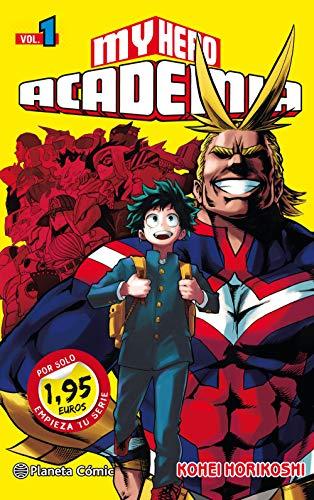 MM My Hero Academia nº 01 1,95 (Manga Manía)