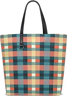 Women Pattern Texture - Decor Handle Satchel Handbags Shoulder Bag Tote Purse Messenger Bags