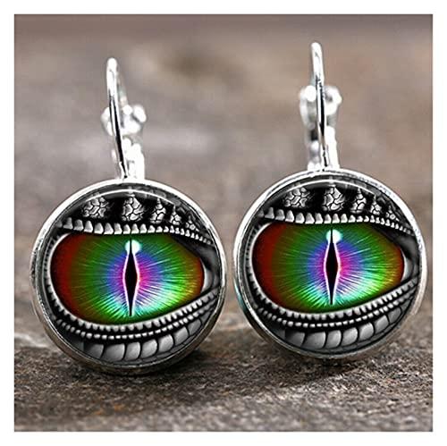 Houren Venta al por Mayor Tiempo Colgante Luna Angel Pendientes Bricolaje Pendientes de aleación Bellamente Brillantes Orejas Decorativas cristalinas