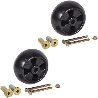(2) Deck Wheel Roller Kits for John Deere LTR155 LTR166 LTR180 LT133 LT150 LT155