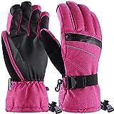 Andake Ski Gloves, Women 3M Thinsulate Touchscreen Warm Waterproof Windproof Guantes de...
