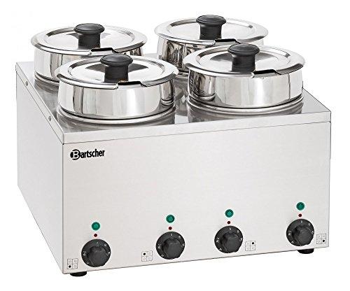 Bain-Marie Hotpot, 4x pan, 3,5 L