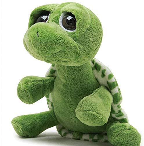 Linda figura de tortugas grandes tortugas de la tortuga para dormir de la almohada de la almohada Decoración de la decoración del juguete de la peluche de la historieta linda de la historieta con esti