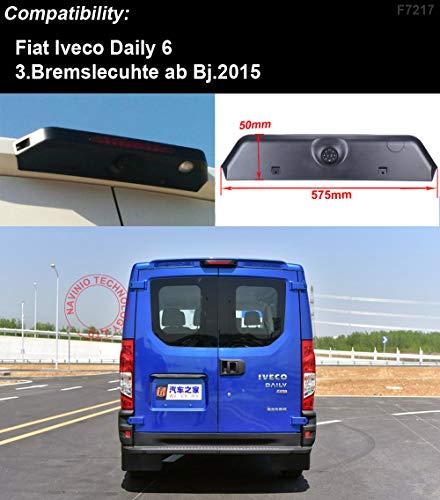 HDMEU Troisième caméra de frein de toit pour Fiat Iveco Daily 6 3. Bremslecuhte ab Bj.2015