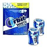 Orbit WHITE Teeth Whitening Sugar Free Gum Bundle (Pack of 3)