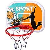 ZZLYY Mini Canasta Baloncesto Oficina Exterior Interior, Tablero De Juguete De Plástico con Red, Actividades Deportivas Juguetes De Regalo Juguetes para Niños,38 * 29cm