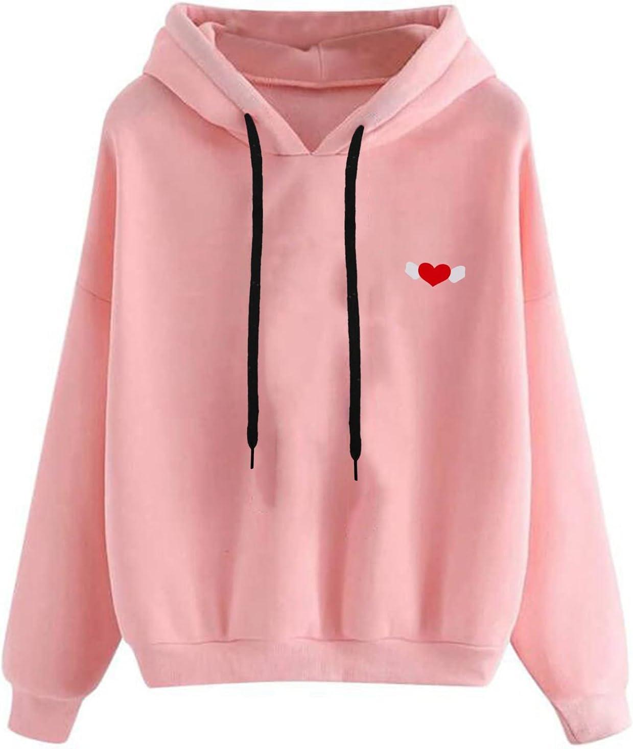 Fullwei Sweatshirt for Women Portland Mall Fashion Crewneck Hood NEW Graphic