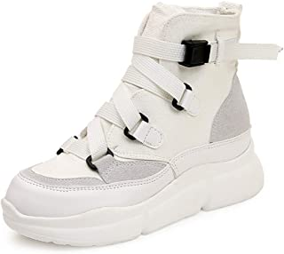 lcky Walking Shoes, Sweet Women's Shoes, high-top Canvas Shoes, Flat Shoes