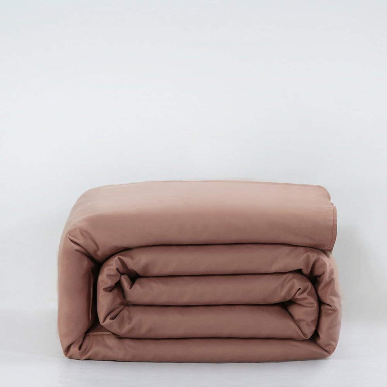 VIOY Article de literie Couleur Unie Cozy 100% Coton étudiant Housse de Couette-E 220  240Cm (87X94Inch)