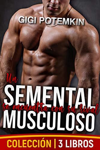 Un semental musculoso se encuentra con su rival de Gigi Potemkin