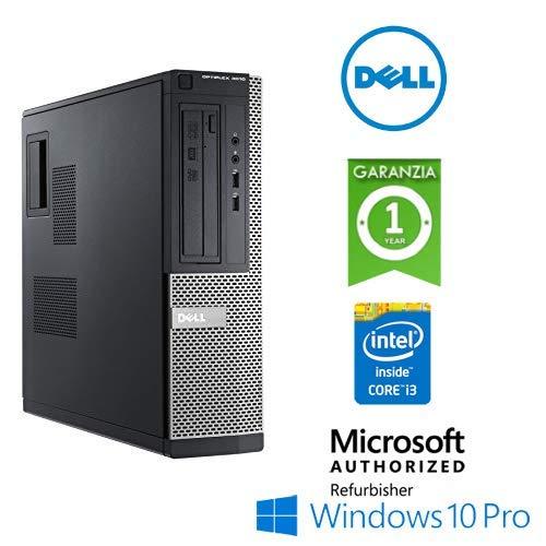 PC Dell Optiplex 3010 Core i3 3°Gen RAM 4Gb HDD 500Gb Windows 10 Professional con Licenza Nuova (Ricondizionato)
