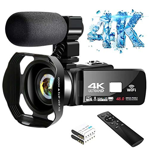4K Video Camera Ultra HD Camcorder...