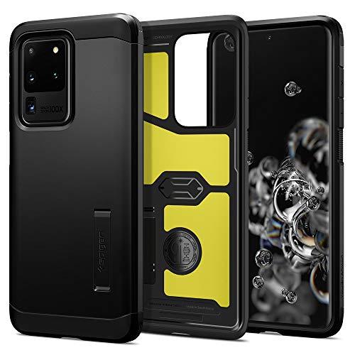 Spigen Tough Armor Works with Samsung Galaxy S20 Ultra Case (2020) - Black