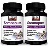 Force Factor Somnapure DrugFree Sleep Aid for Adults, White, 60 Count