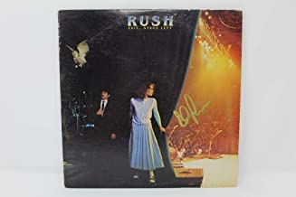 Alex Lifeson Rush Signed Autograph Album Vinyl Record - Exit. Stage Left Real - Music Albums