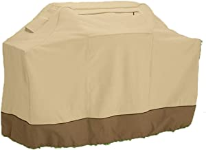 YLYWCG 600D Oxford Fabric Rip-Proof, Barbecue Cover, BBQ Cover, Available in Four Different Sizes BBQ Grill Cover (Color : Light Yellow, Size : 58x24x48in)
