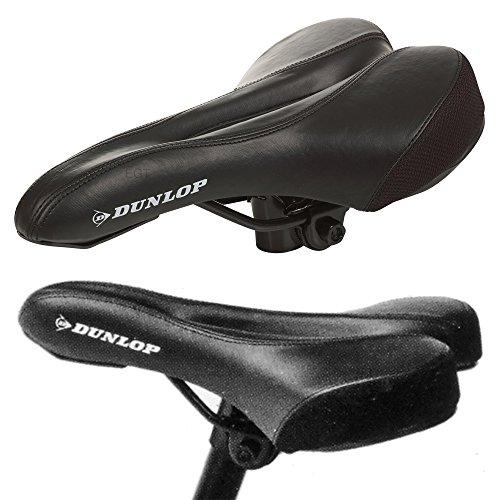 Dunlop Fahrradsattel Mountainbike Rennrad Sportlich Gepolsterter Sitz Universal