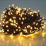 SALCAR 25.7m 360 Leds Cadena de Luces IP44 Impermeable, LED Luz...