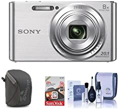 Sony Cyber-Shot DSC-W830 Digital Camera Bundle. Value Kit with Accessories