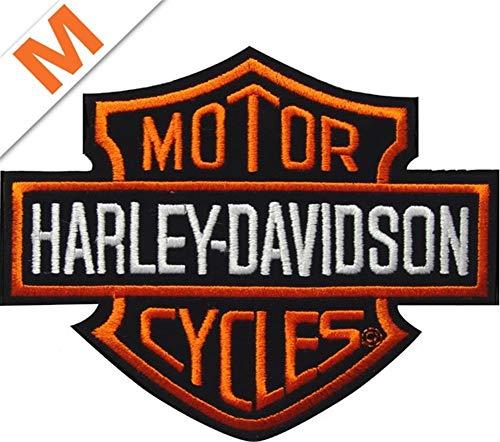 Harley-Davidson Aufnäher B&S Orange klein
