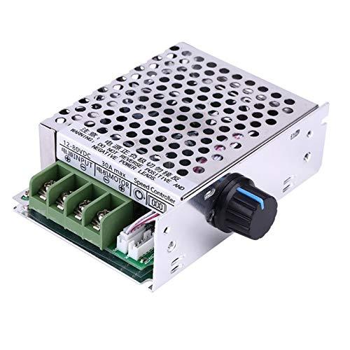 ESUHUANG PWM DC Motor Speed Controller 12V-80V DC 30A PWM Variable Digital LCD Pantalla DC Regulador de Velocidad de Motor con Estuche