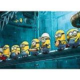 Rompecabezas de madera for Despicable Me, Minions 500/1000/1500 Piezas, regalos del día de adulto Regalo creativo de descompresión rompecabezas de dibujos animados juguetes educativos for niños