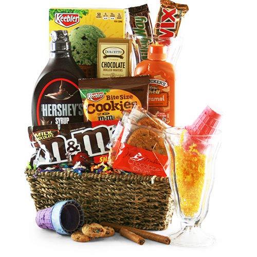 Sundae Night Special Ice Cream Gift Basket