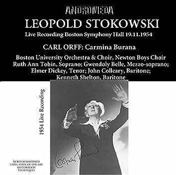 Orff: Carmina Burana (Live at Boston Symphony Hall, 1954)