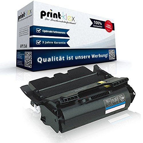 Print-Klex XXL Toner kompatibel für LEXMARK OPTRA T644 T644DN T644DTN T644N T644TN 64036SE 64016HE 64040HW XXL