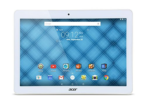 Acer Iconia One 10 (B3-A10) 25,7 cm (10,1 Zoll) Tablet-PC (MTK MT8151 Octa-Core, 1GB RAM, 16GB eMMC, Android 5.1 Lollipop) weiß