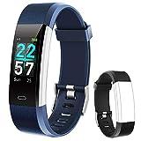 Flenco Waterproof Fitness Tracker Watch Activity Tracker Heart Rate Monitor Smart Watch Health