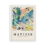 Henry Matisse carteles e impresiones retro paisaje abstracto arte...