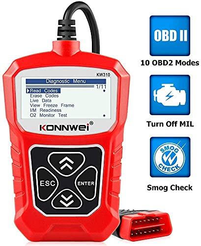 KONNWEI KW310 OBD2 Reader Universal Car Diagnostic Scanner Tool for...