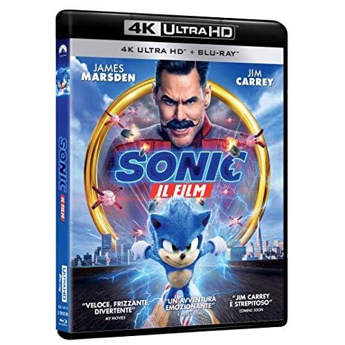 Sonic: Il Film - 4K Ultra Hd  (2 Blu Ray)