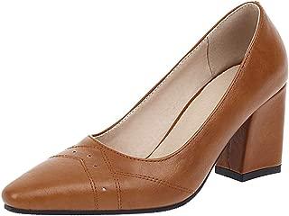 TAOFFEN Women Fashion High Heels Pumps