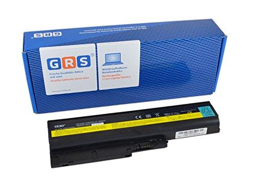 GRS Batterie pour IBM ThinkPad T60, T61, R60, R61, Z60, R500, W500, T500, remplacé: 40Y6797, 40Y6799, 92P1141, 92P1137, 92P1133, 40Y6795, 92P1139, 92P1131, Laptop Batterie 4400mAh, 10.8V/ 48Wh