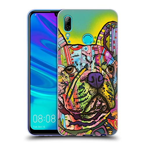 Head Case Designs Officially Licensed Dean Russo French Bulldog Dogs Soft Gel Case Compatible with Huawei P Smart (2019)