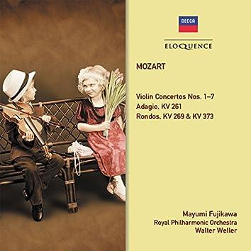 Mozart: Violin Concertos Nos. 1-7; Rondo Concertante KV 269; Adagio, KV 261; Rondo, KV 373