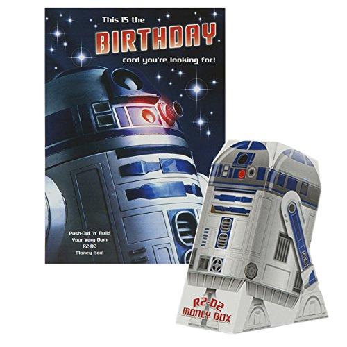 Hallmark Birthday Kids Star Wars R2D2 Card - Medium