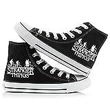 Fira Woo Stranger Things Zapatos Zapatos de Lona Unisex Zapatos Casuales Luminosos