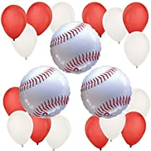 Big Dot of Happiness Batter Up - Baseball - Baby Shower or Birthday Party Balloon Kit