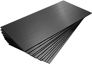 【国産10枚入】プラダンシート導電 黒 幅301mm ×長600mm 厚5mm