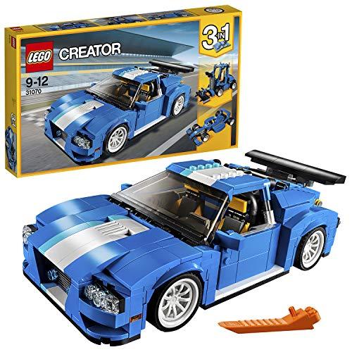 LEGO- Creator Auto da Corsa, Multicolore, Taglia Unica, 31070