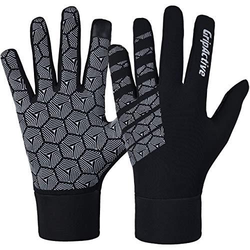 Grip Active - Guantes de ciclismo para invierno, pantalla táctil, antideslizante, cálidos...