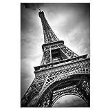artboxONE Poster 30x20 cm Städte Eiffelturm Dynamic