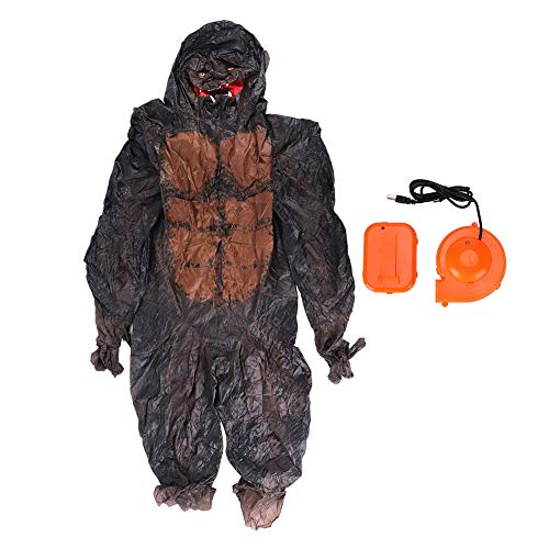 Inflatable Halloween Costume, Inflatable Costume with Air Blower for Halloween Christmas Festivals Parties Parks Zoos Decoration (X117)