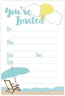 Best beach themed invitations Reviews